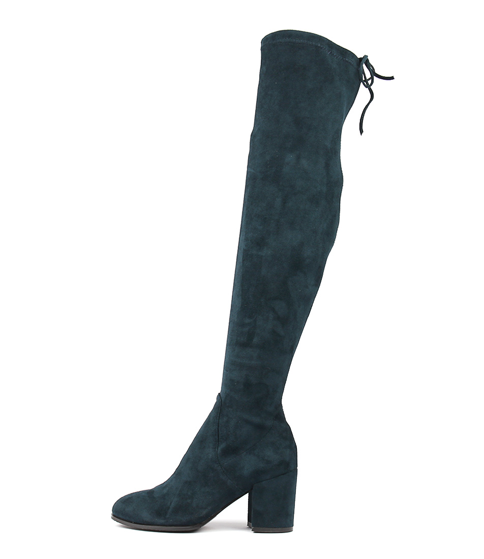 Top End Wagner Navy Long Boots