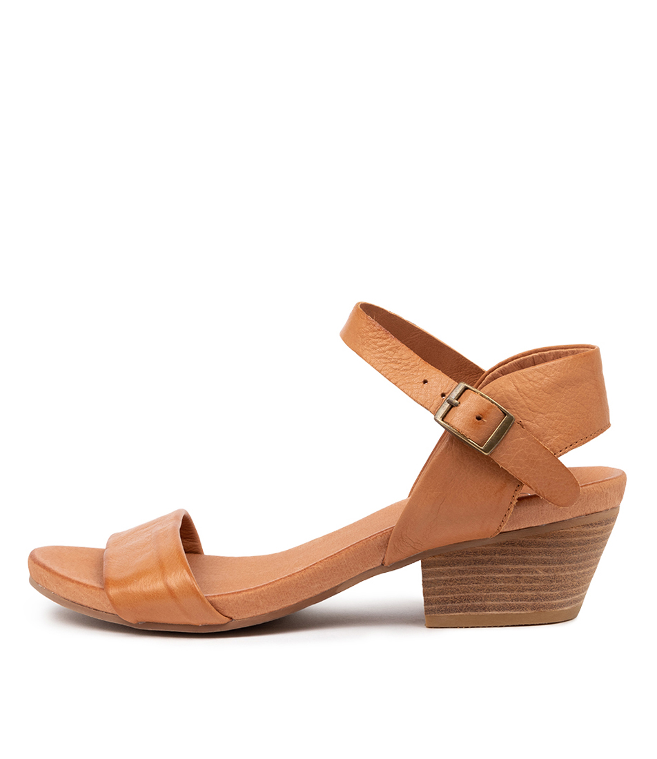 Buy Top End Control Dk Tan Dk Tan Heeled Sandals online with free shipping