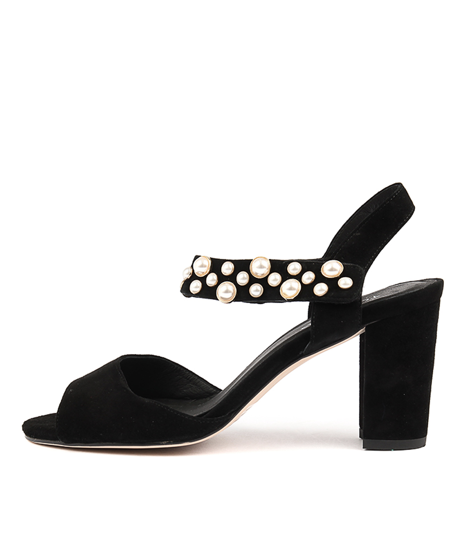 Top End Achieve Black Heeled Sandals