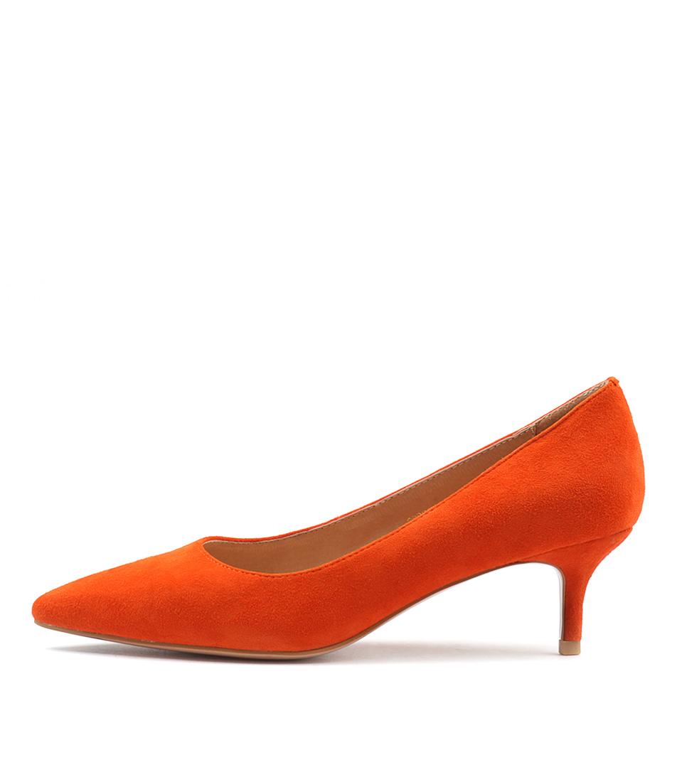 Top End Certain Orange Heeled Shoes