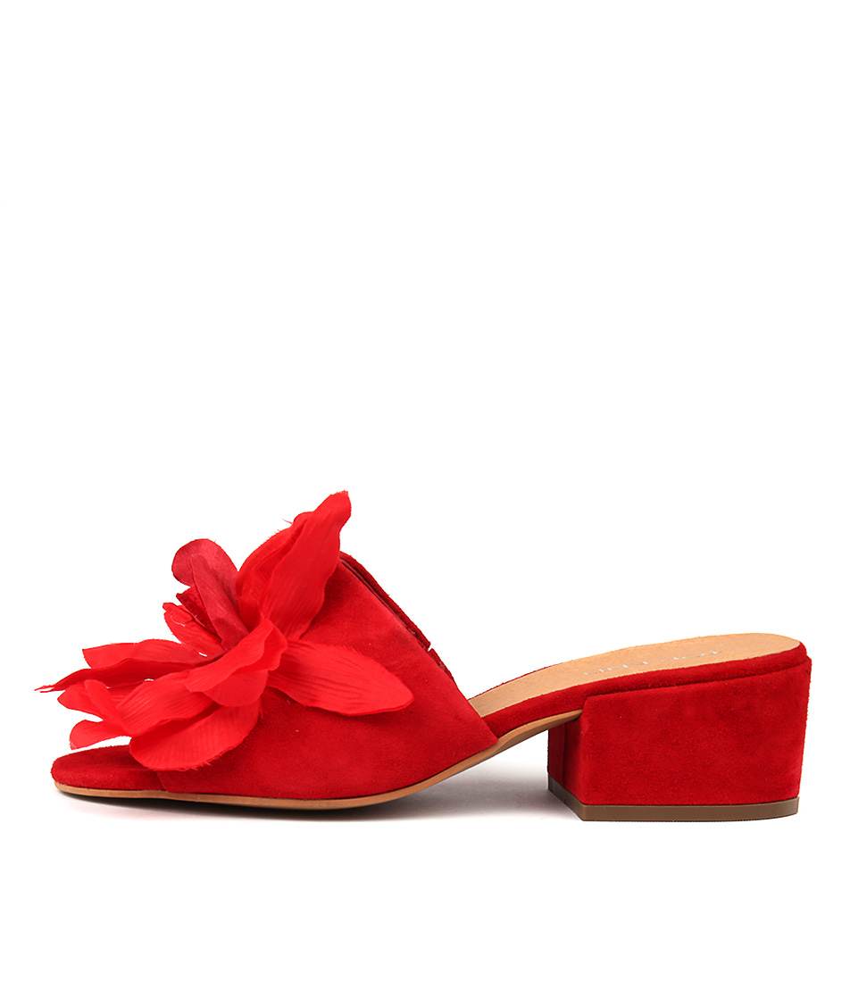 Top End Flying Red Heeled Sandals