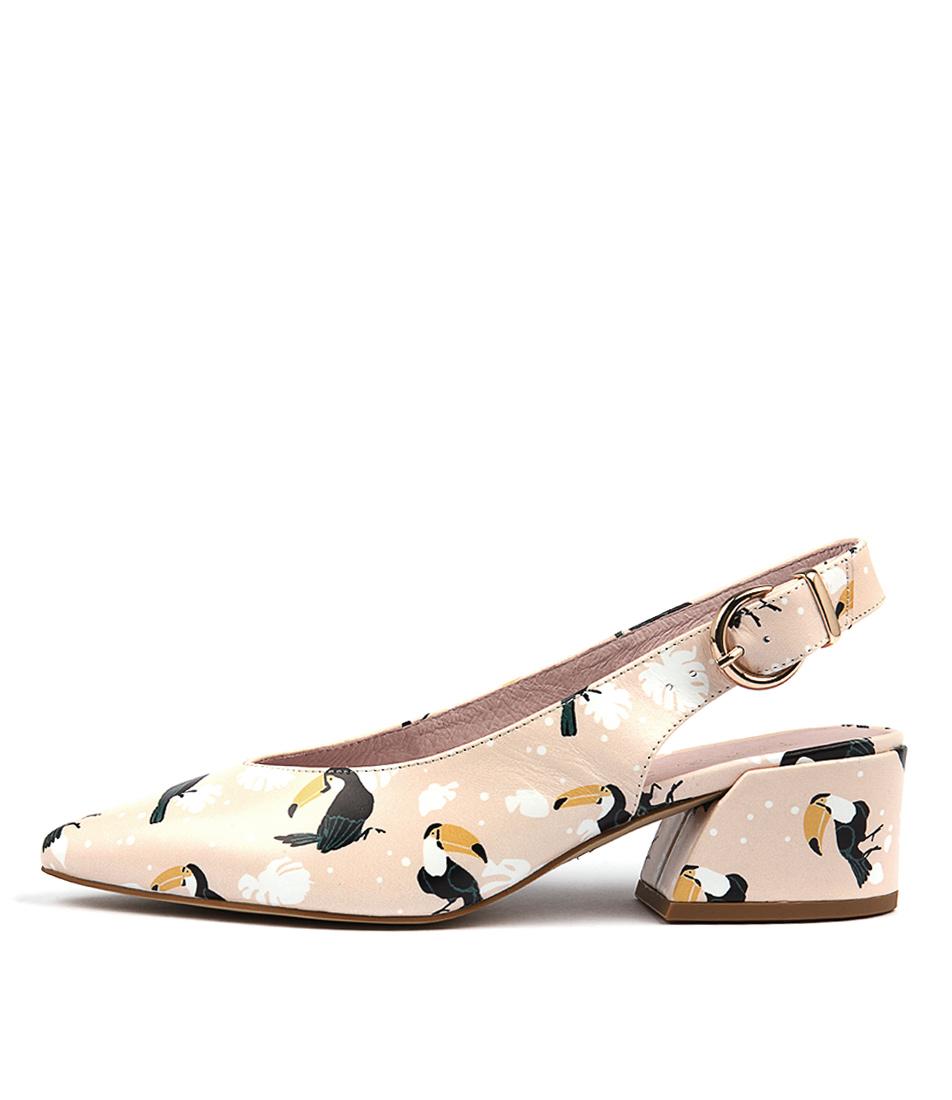 Top End Ormond Pink Bird  Heels