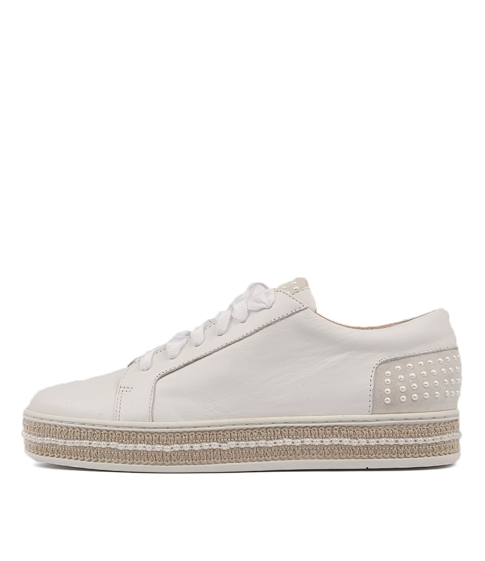 Top End Peddler White Casual Flat Shoes