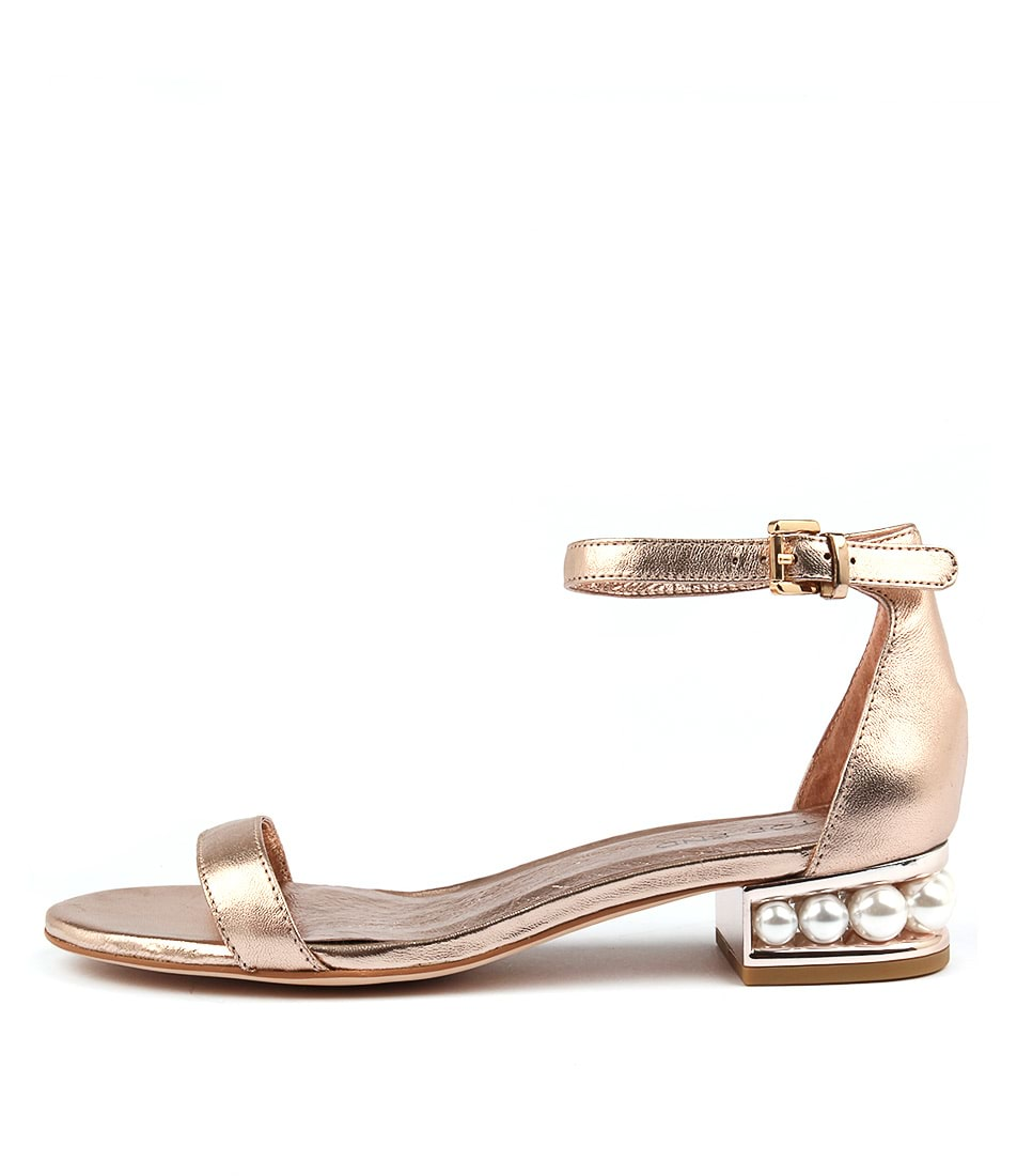 Top End Perhaps Rose Gold Sandals