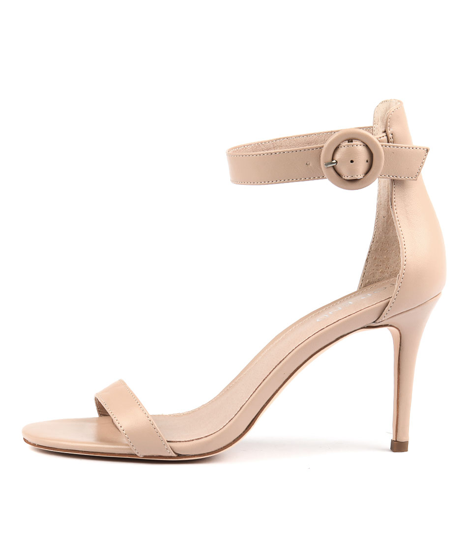 Top End Drive Dk Nude Heeled Sandals