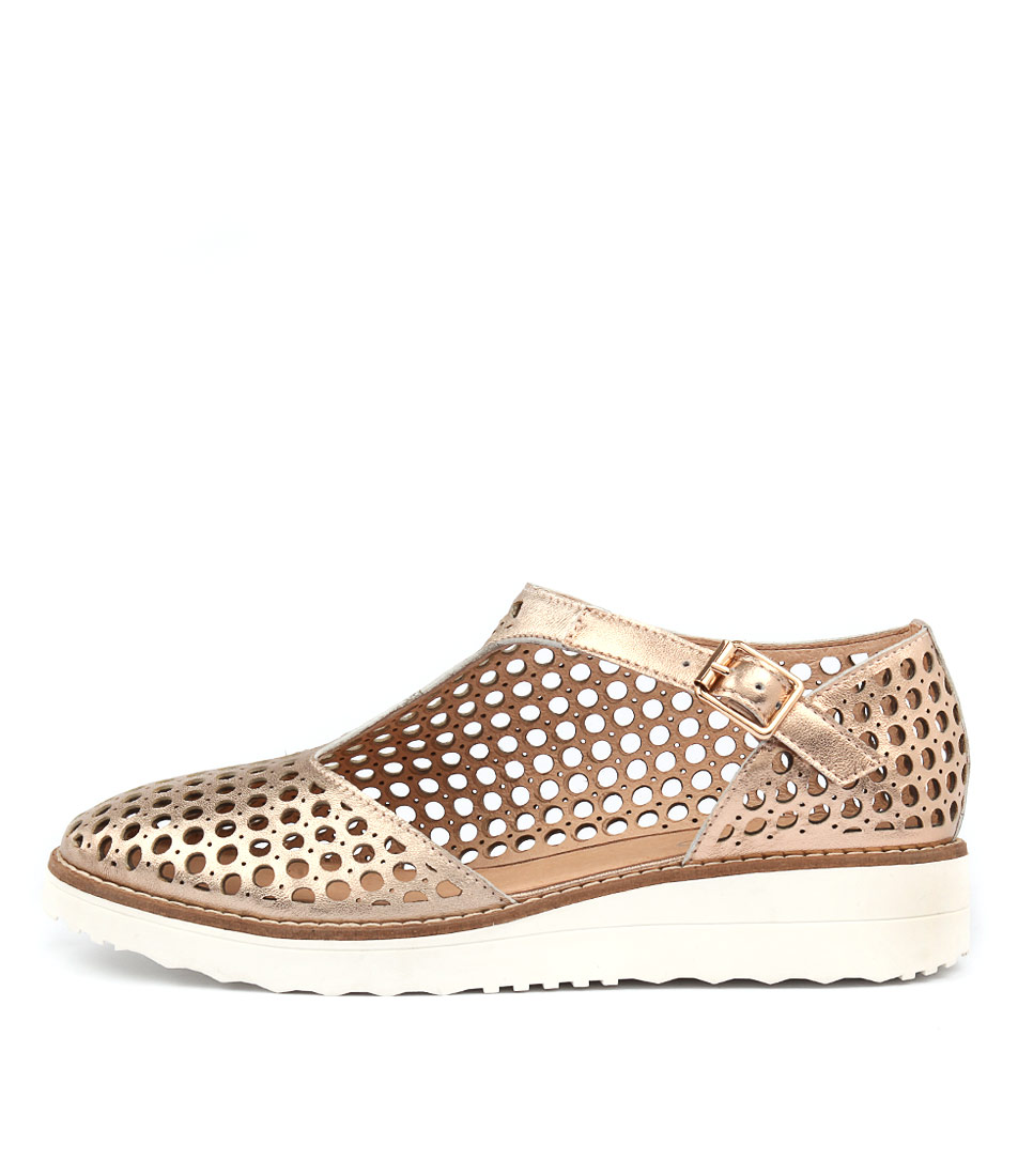Top End Offhand Rose Gold Flat Shoes