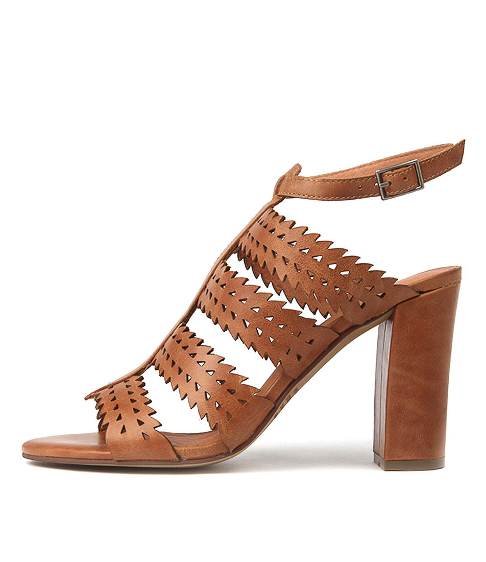 Buy Top End Simone Tan Heeled Sandals online with free shipping