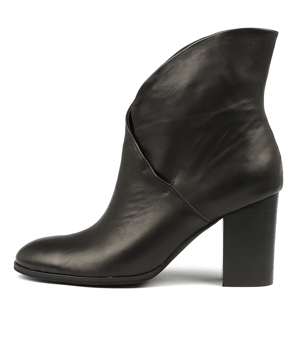 Photo of Top End Attie Black Ankle Boots, shop Top End ankle boots online
