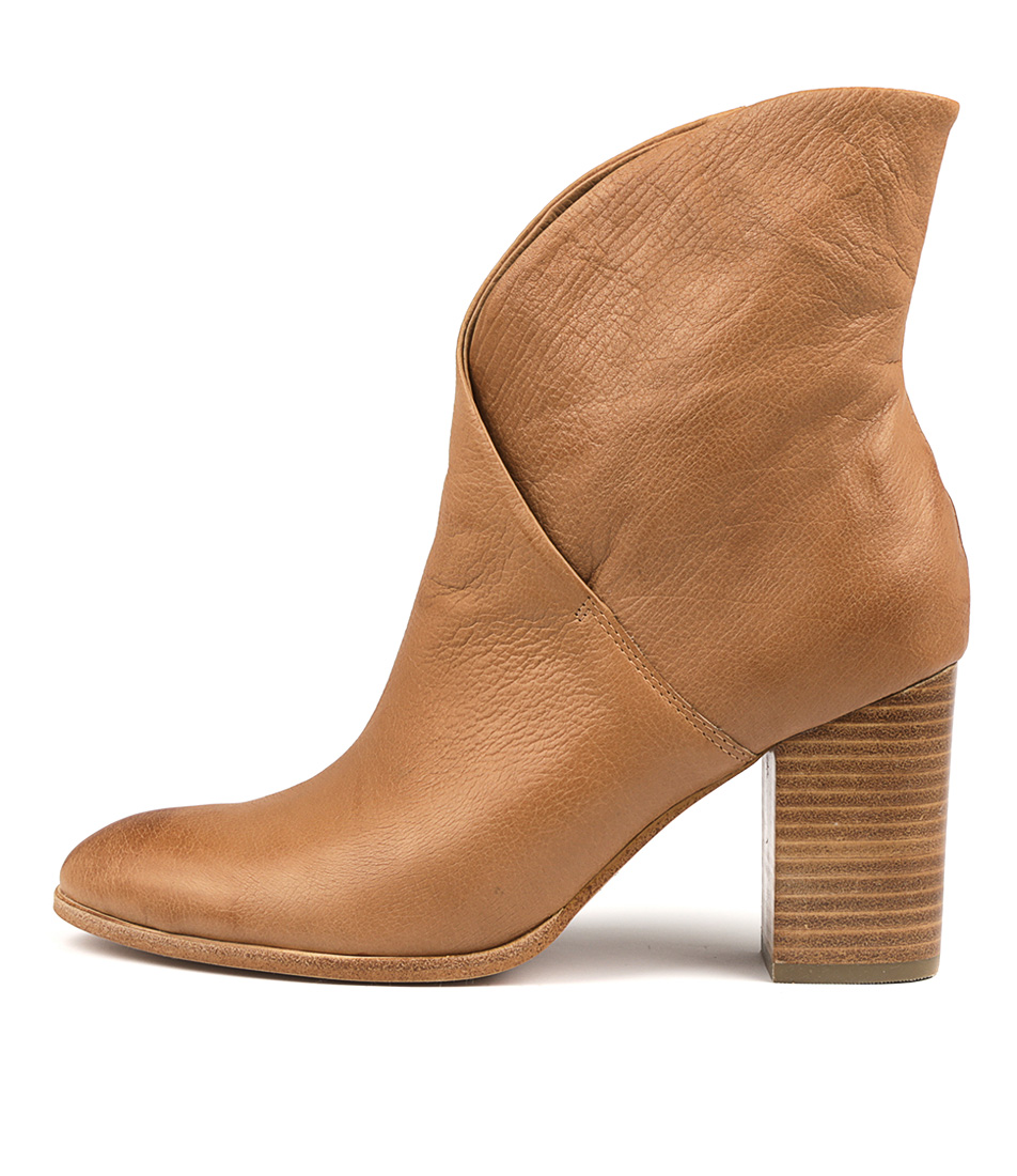 Photo of Top End Attie Dk Tan Ankle Boots, shop Top End ankle boots online