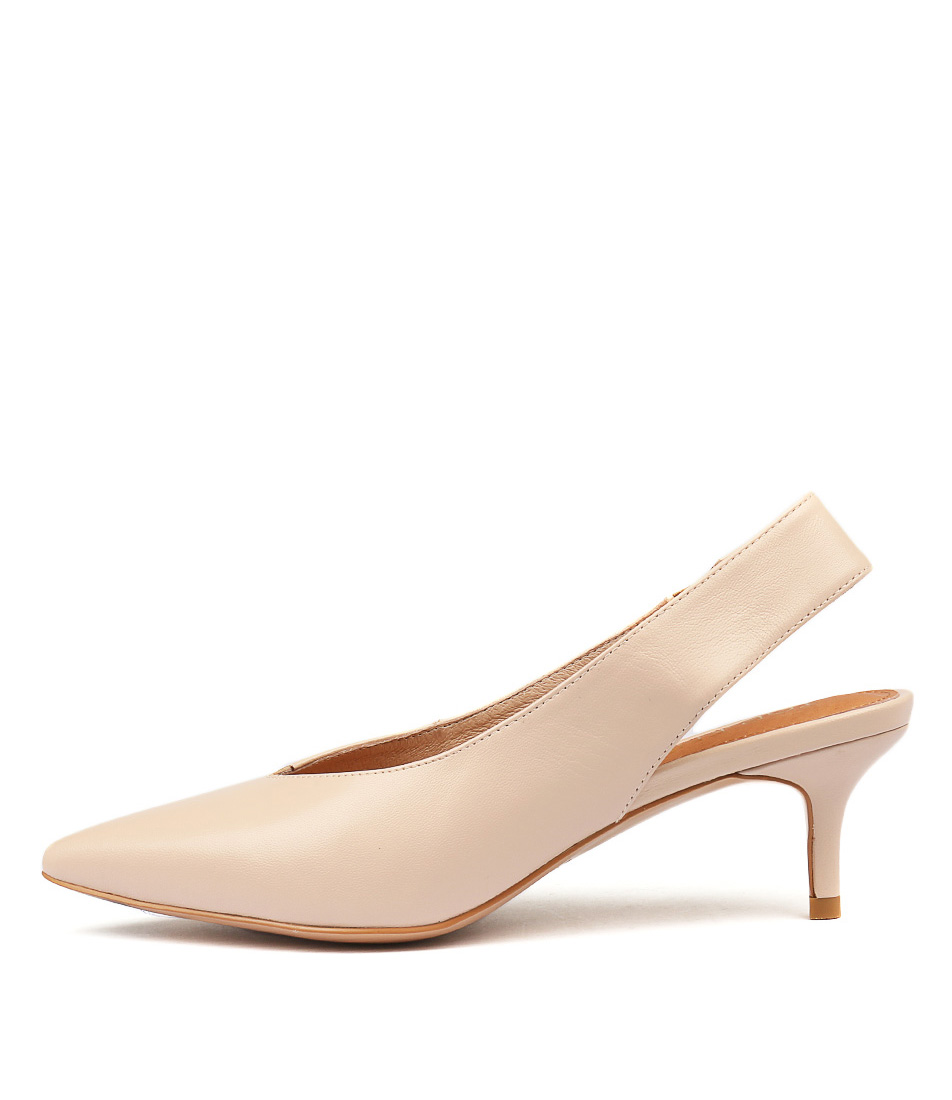 Top End Clera Nude Heeled Shoes