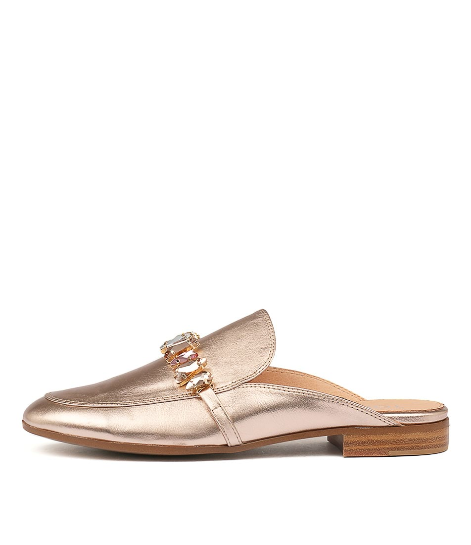 Top End Leann Rose Gold Flat Shoes