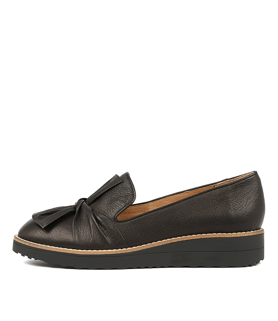 Buy Top End Oclem Black Black Sole Flats online with free shipping