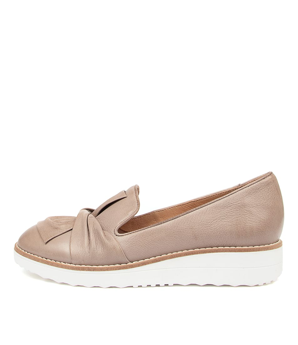 Buy Top End Oclem Ash White Sole Flats online with free shipping