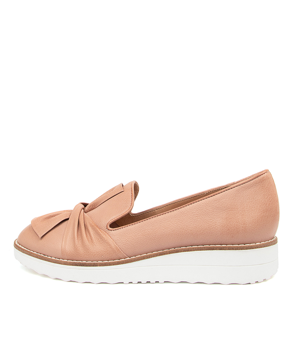 Buy Top End Oclem Warm Rose White Sole Flats online with free shipping