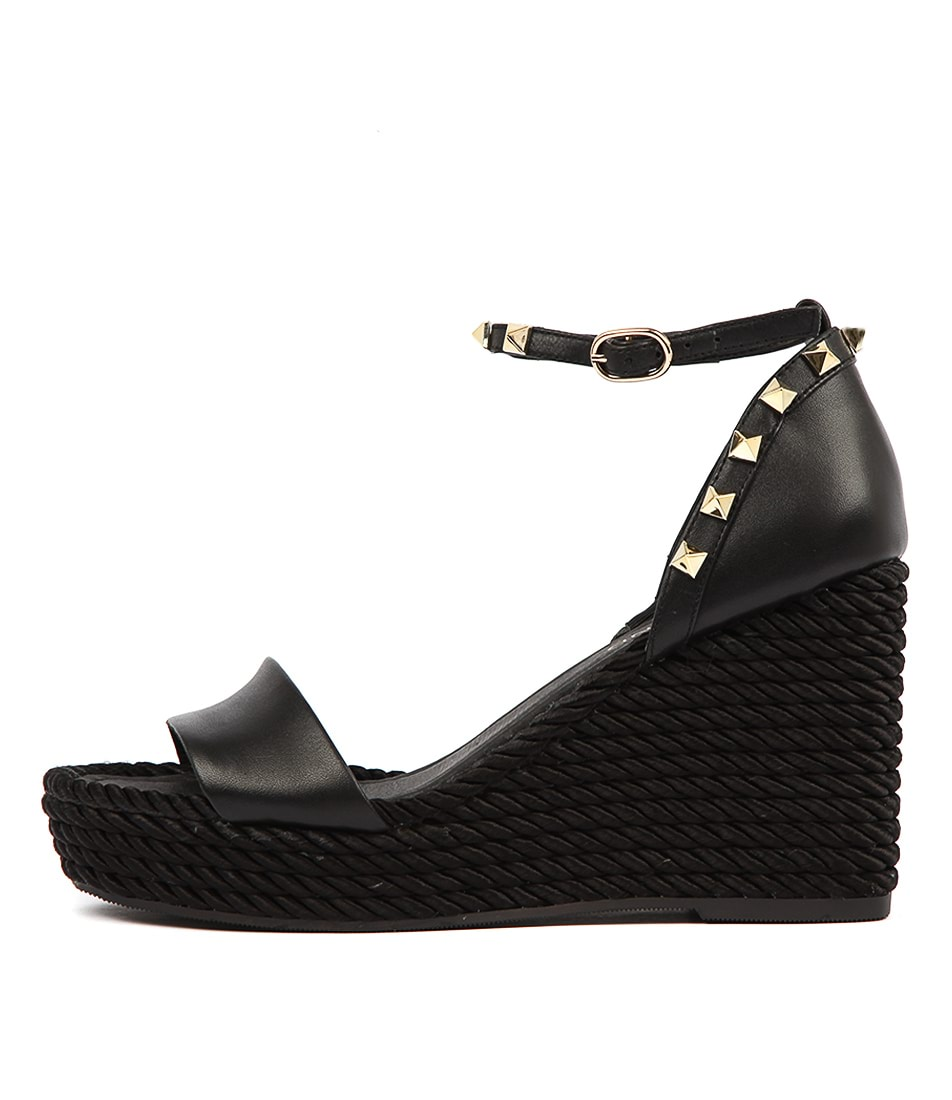 Buy Top End Ardeni Black Heeled Sandals online with free shipping