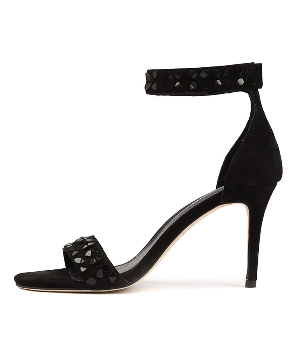 Buy Top End Derald Black Heeled Sandals online with free shipping