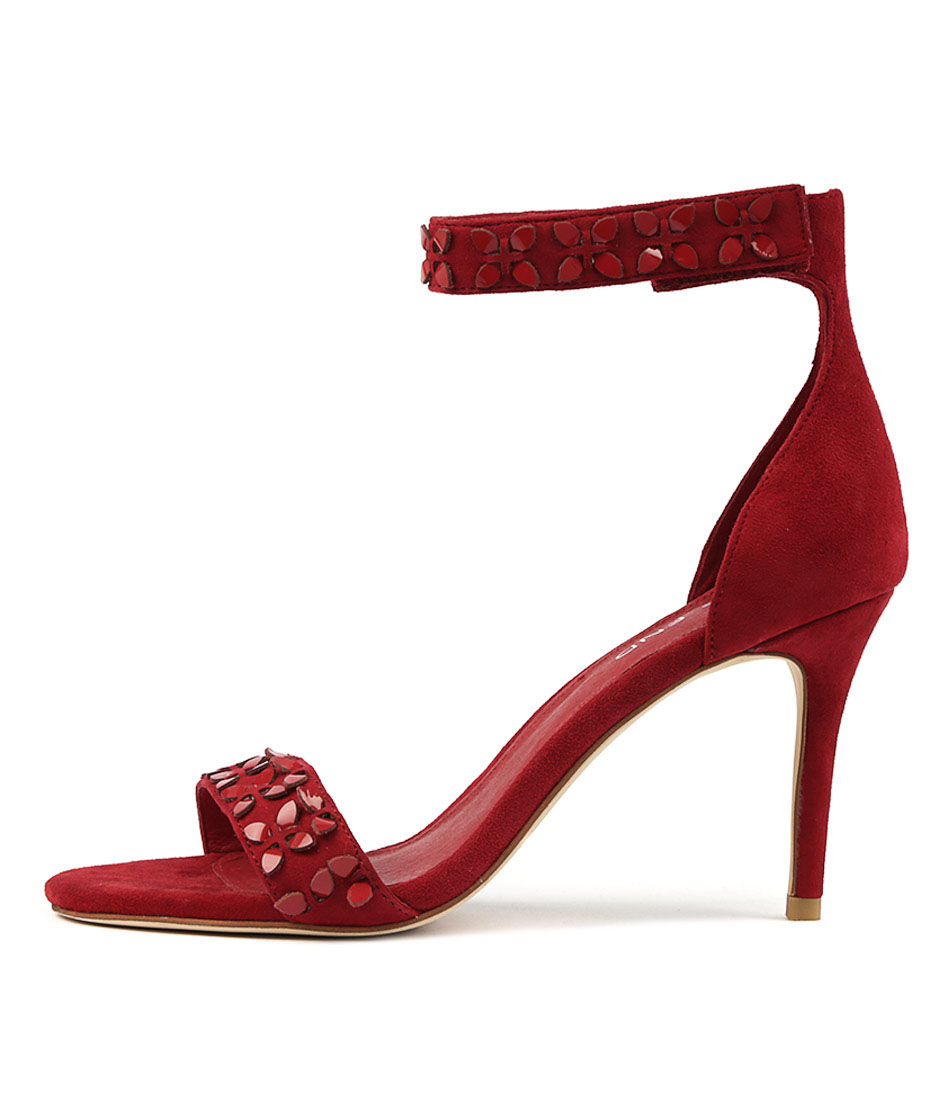 Buy Top End Derald Red Red Heeled Sandals online with free shipping