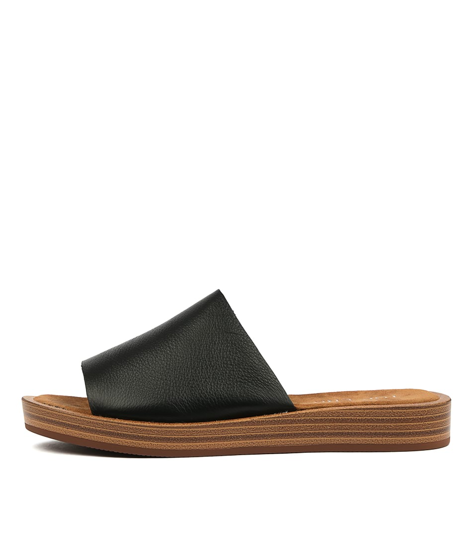 Buy Top End Faron Black Heeled Sandals online with free shipping