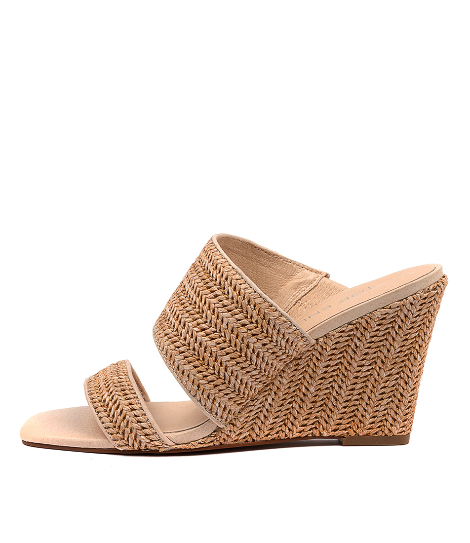 Buy Top End Kohen Natural Heeled Sandals online with free shipping