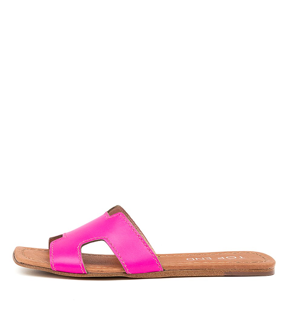 Buy Top End Leamon Pink Fluro Flat Sandals online with free shipping