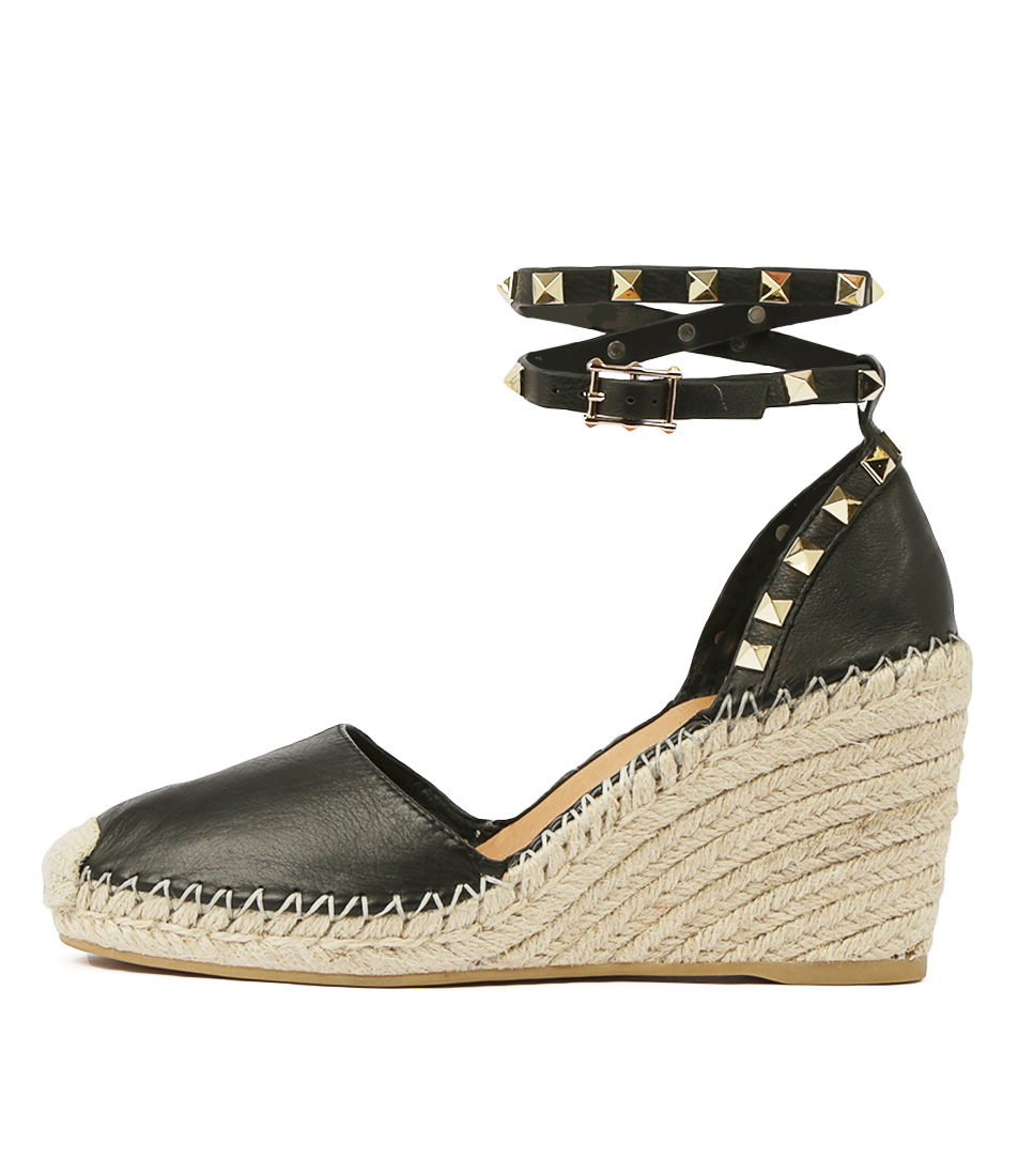 Buy Top End Mikkel Black High Heels online with free shipping
