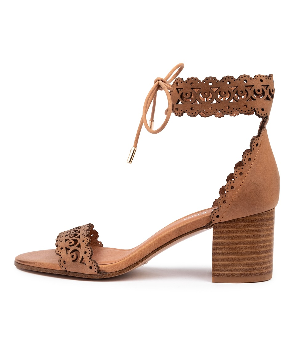 Buy Top End Rochelle Tan Heeled Sandals online with free shipping