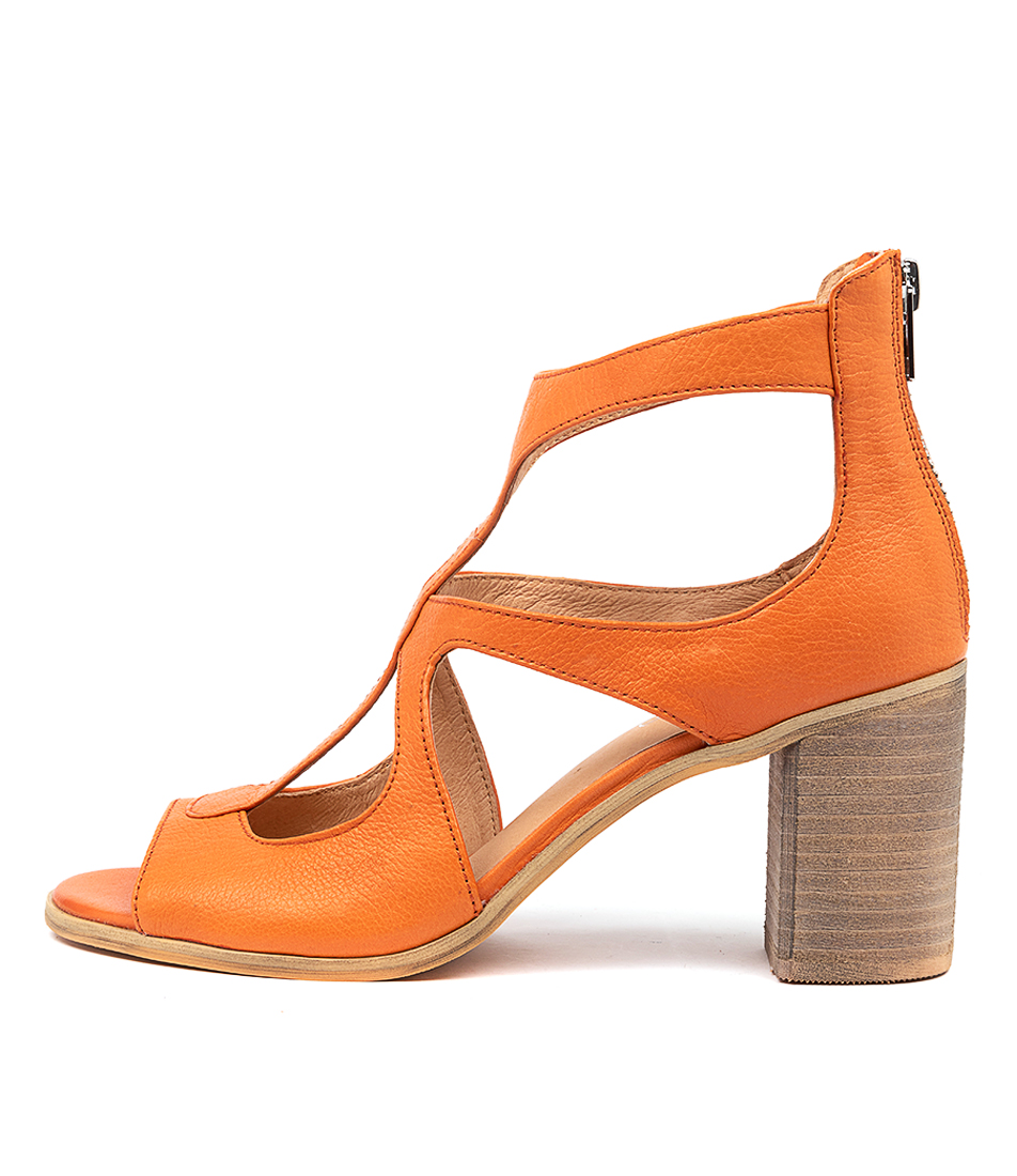 Buy Top End Winfolm Orange Heeled Sandals online with free shipping