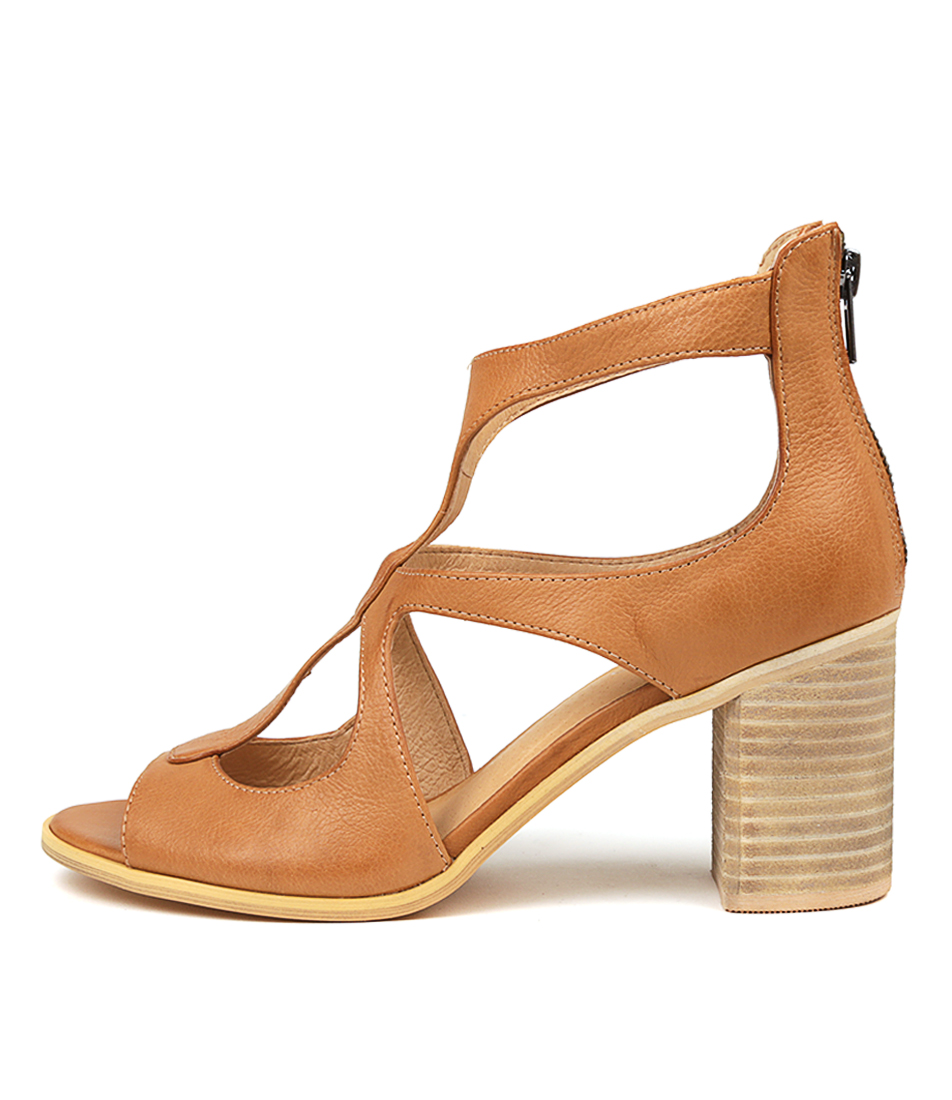 Buy Top End Winfolm Dk Tan Heeled Sandals online with free shipping