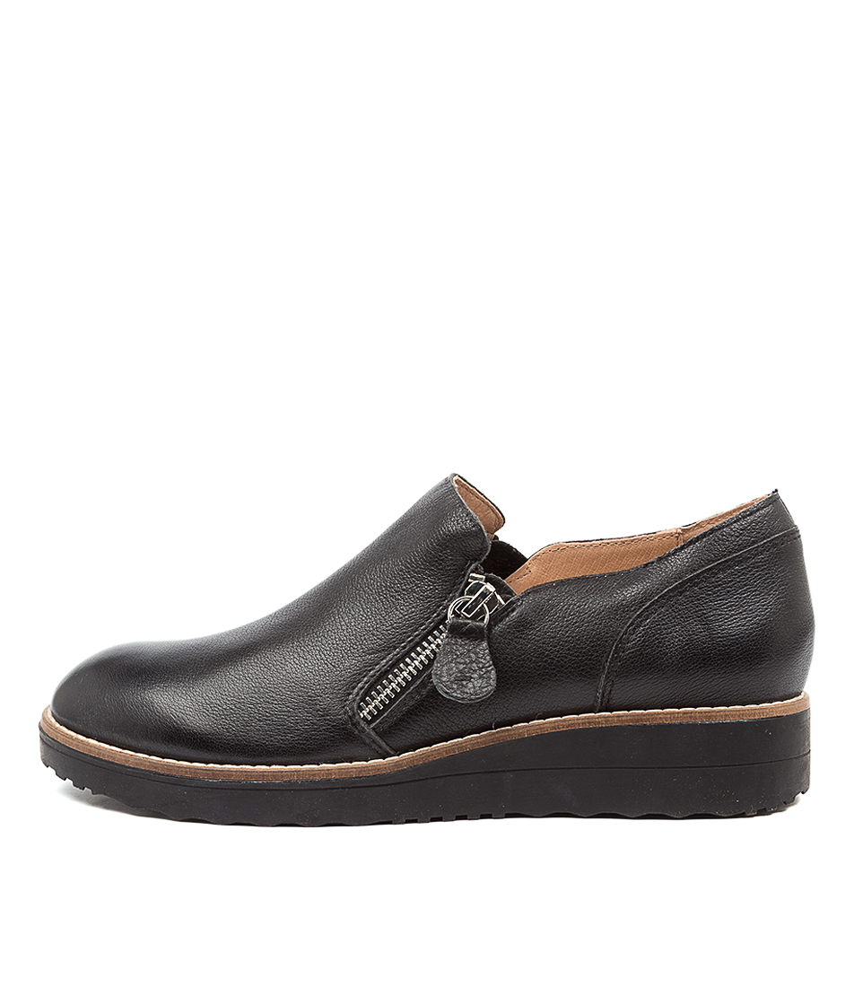 Buy Top End Otilia Black Sole Flats online with free shipping