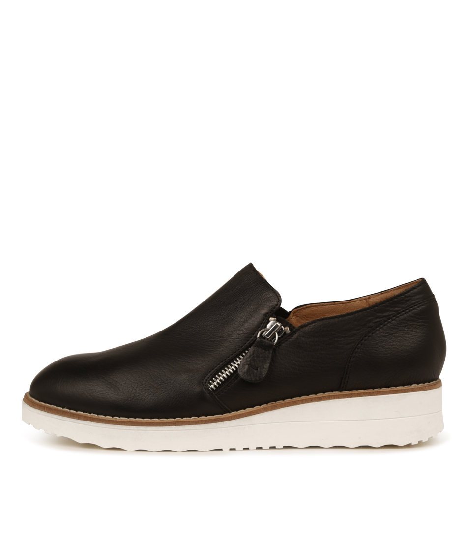 Buy Top End Otilia Black White Sole Flats online with free shipping