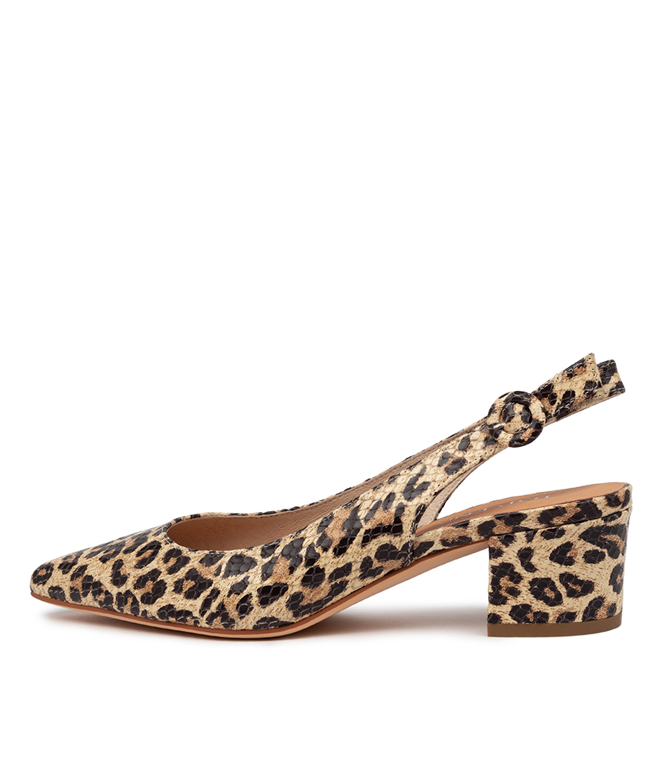 Buy Top End Abigale Ocelot High Heels online with free shipping