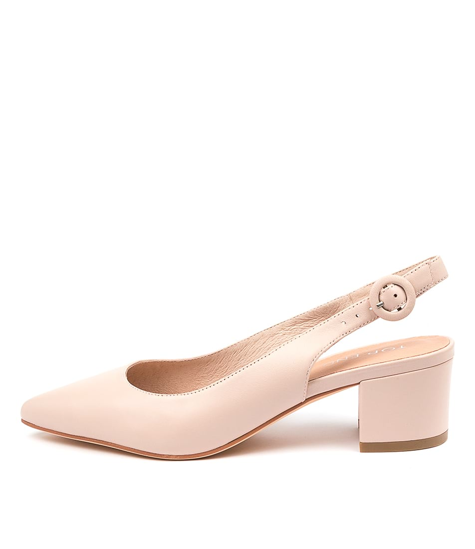 Buy Top End Abigale Nude High Heels online with free shipping