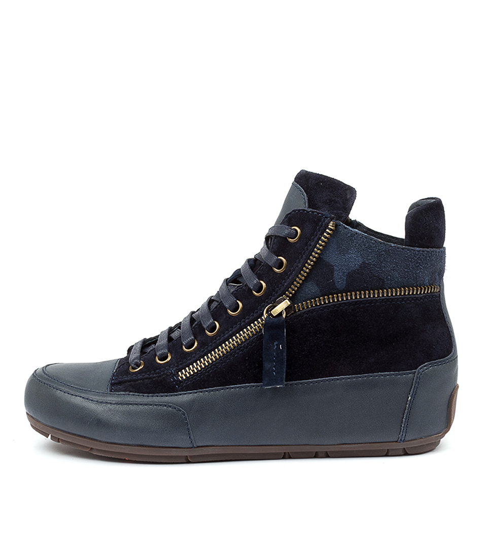 Buy Top End Alicia Navy Ankle Boots online with free shipping