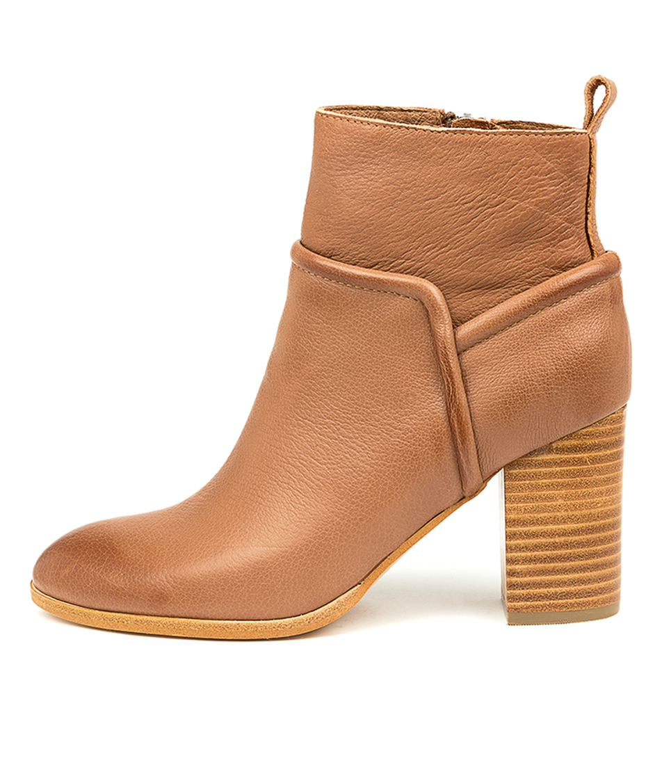 Buy Top End Althea Cognac Ankle Boots online with free shipping