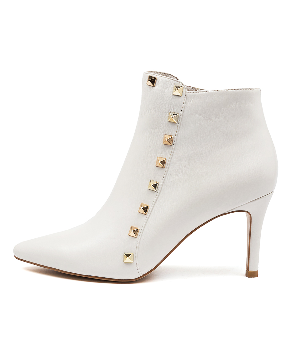 Buy Top End Brynlee White Dress Ankle Boots online with free shipping