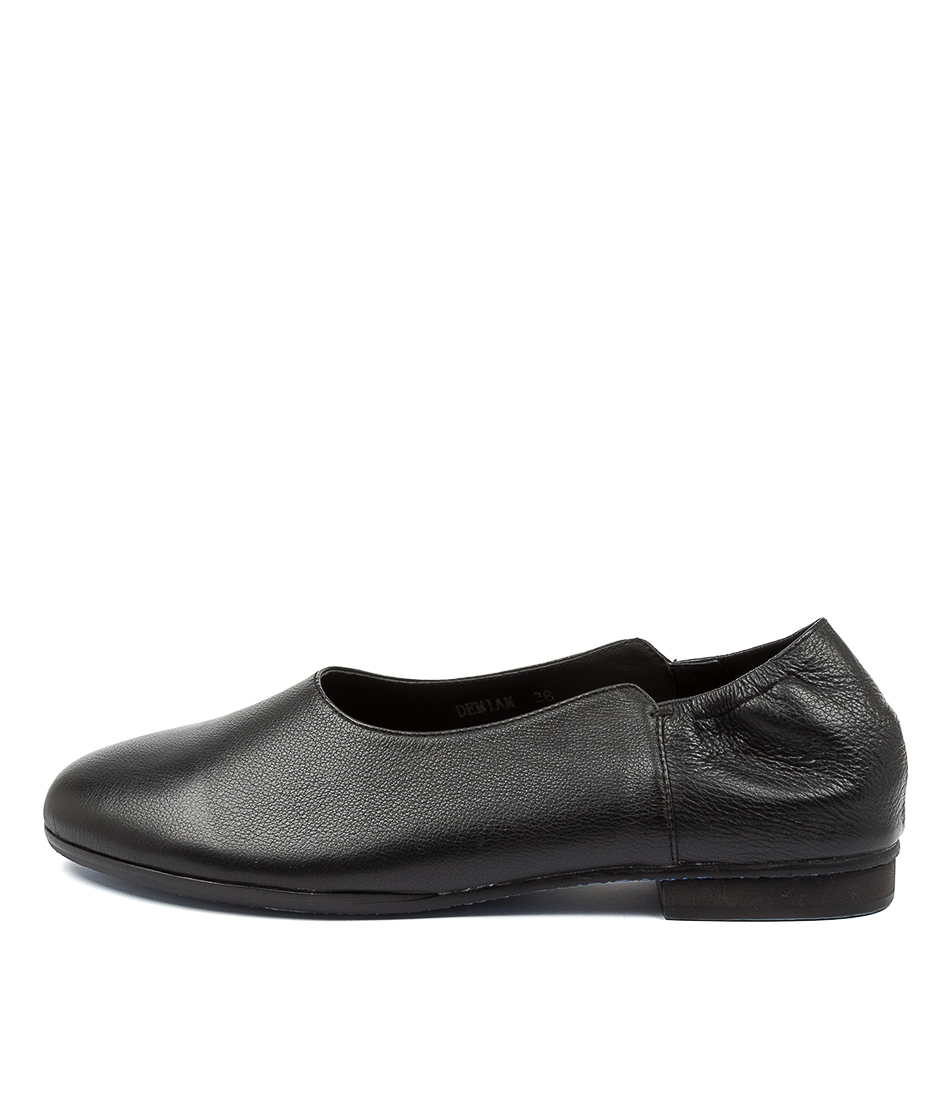 Buy Top End Demian Black Flats online with free shipping