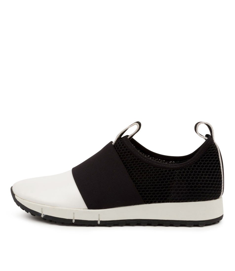 Buy Top End Jasiah White Black Sneakers online with free shipping