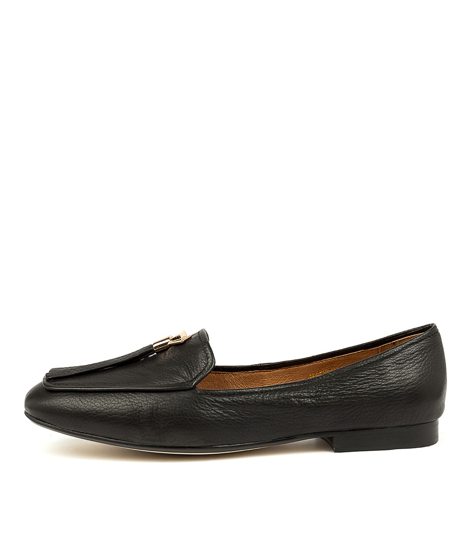 Buy Top End Marcelo Black Flats online with free shipping