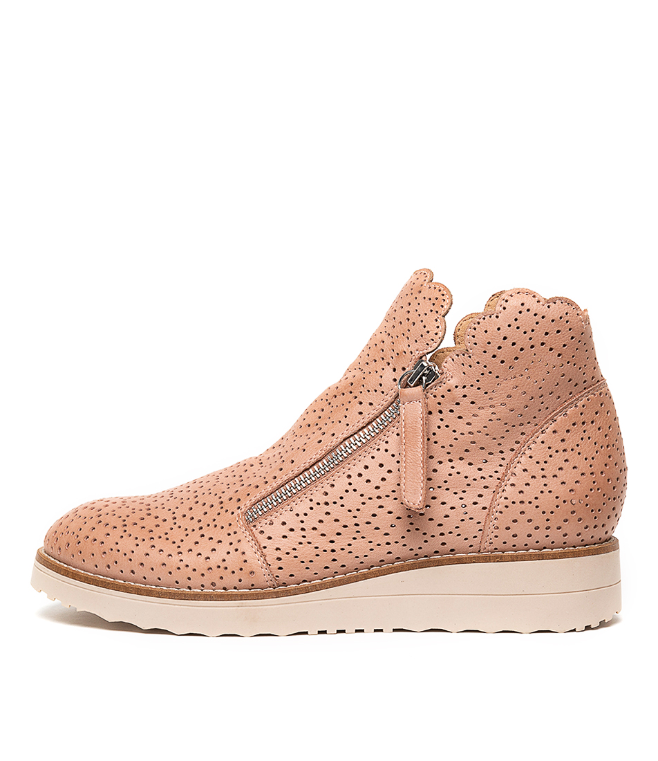 Buy Top End Ovidy Cafe Nude Sole Ankle Boots online with free shipping