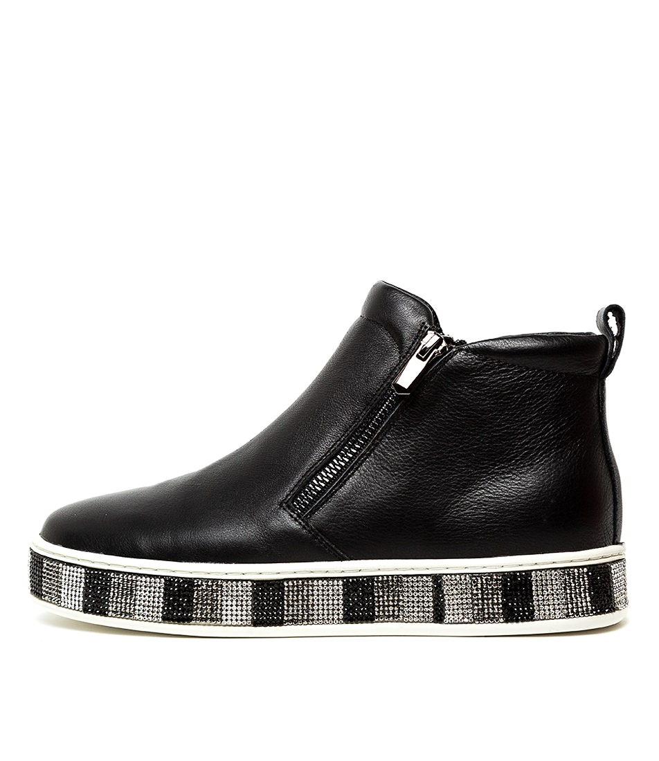 Buy Top End Pypers Black Mul Ankle Boots online with free shipping