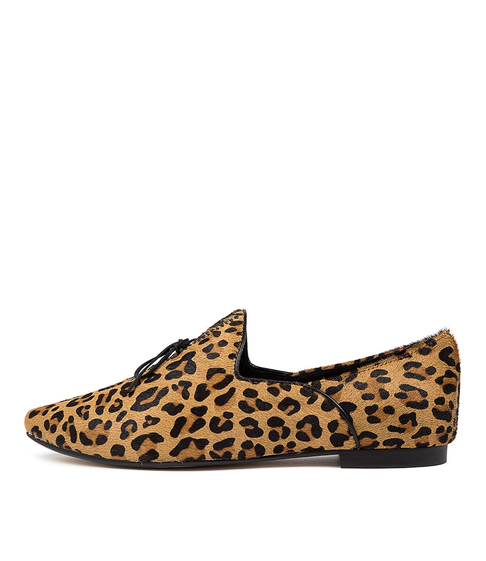 Buy Top End Sommer Ocelot Black Flats online with free shipping