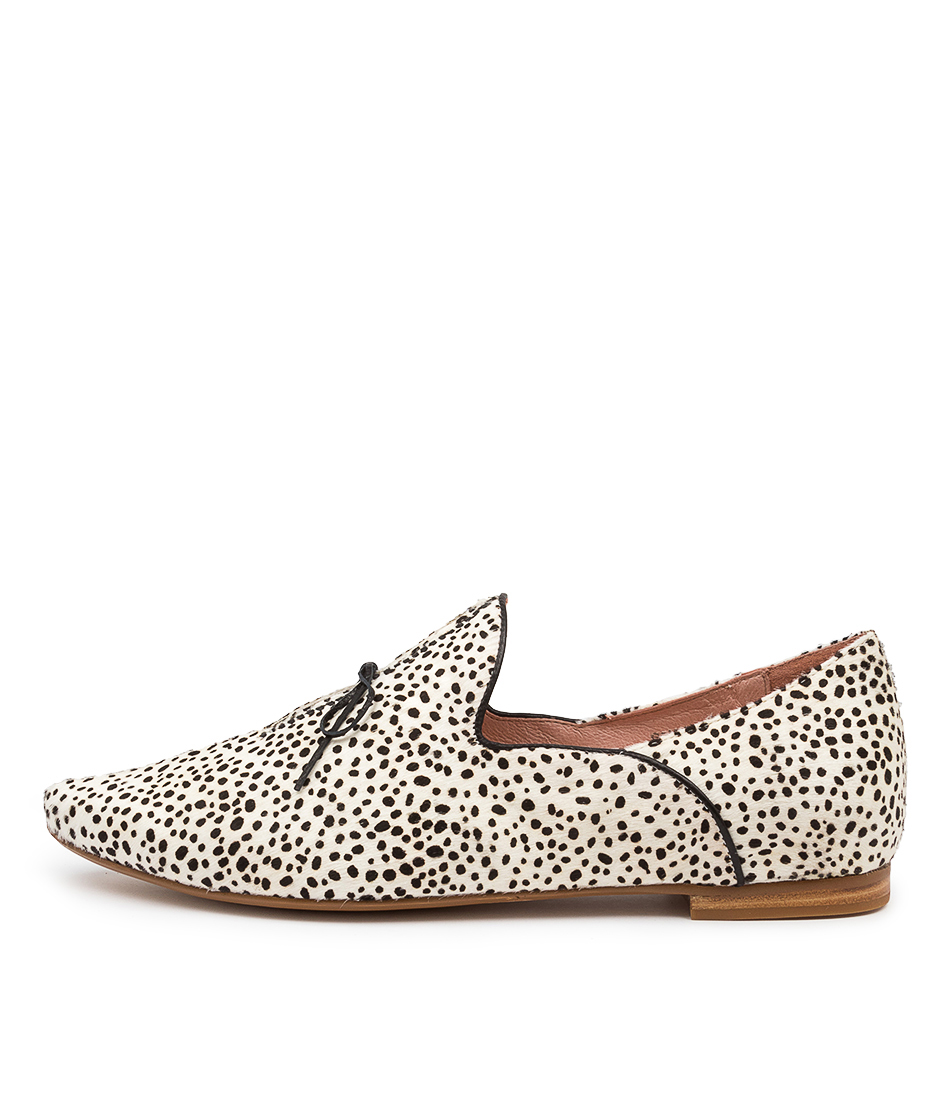 Buy Top End Sommer Black & White Speckle Black Flats online with free shipping