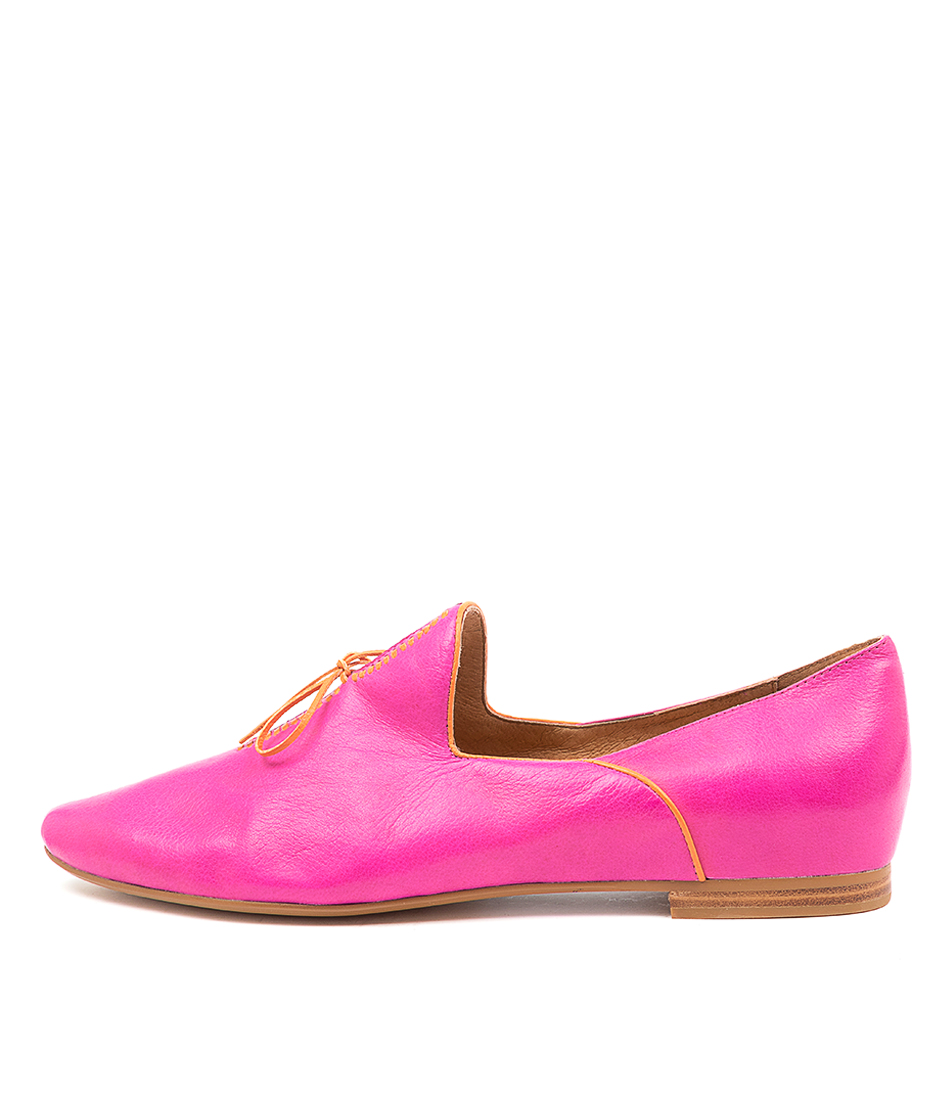 Buy Top End Sommer Fuchsia Orange Flats online with free shipping