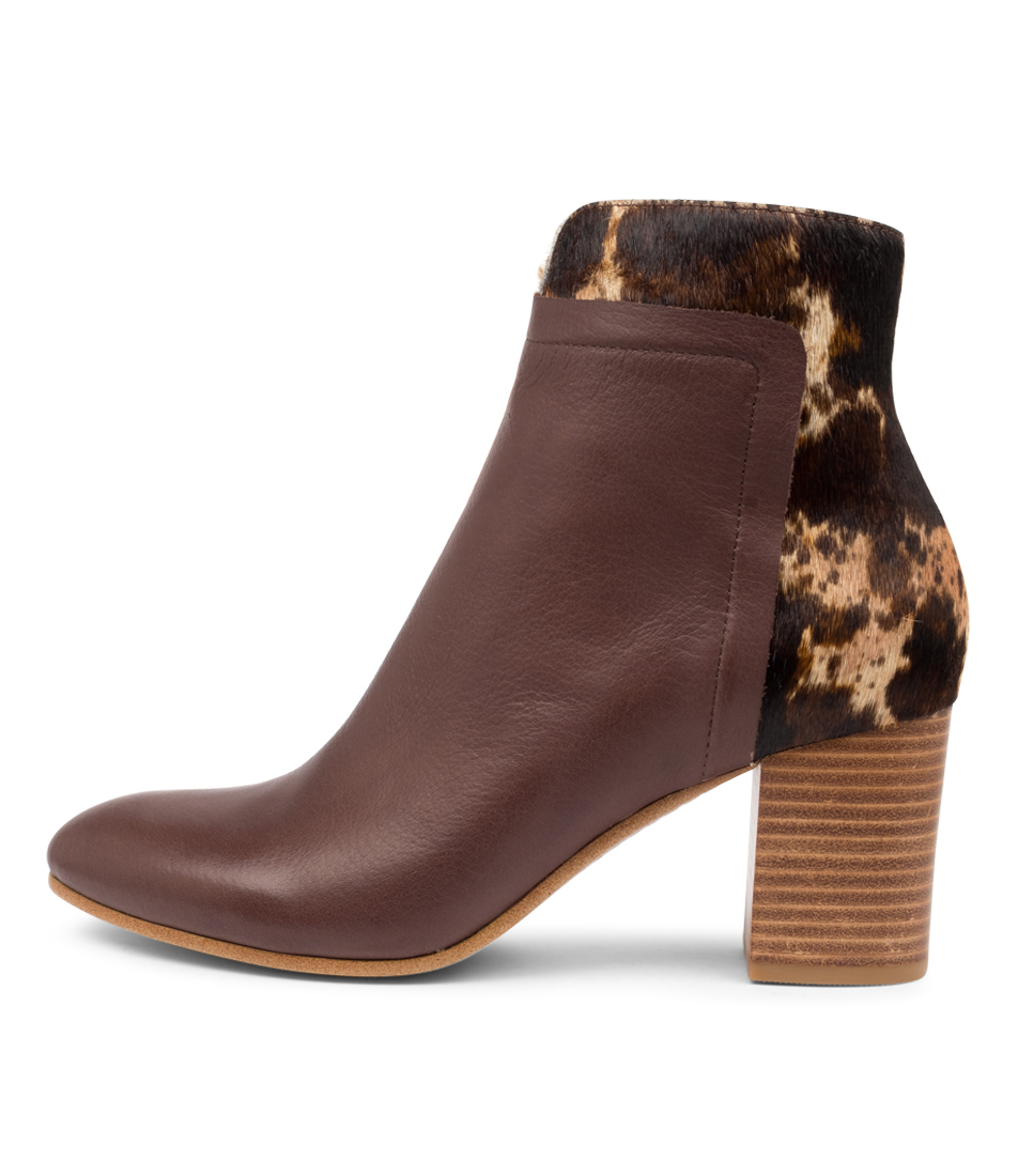 Buy Top End Urarana Mocca Choco Mix Ankle Boots online with free shipping
