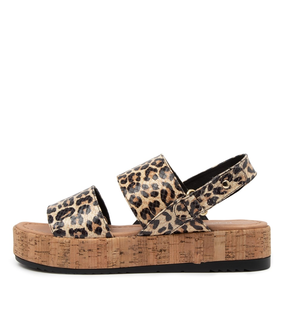 Buy Top End Alecks To Ocelot Flat Sandals online with free shipping
