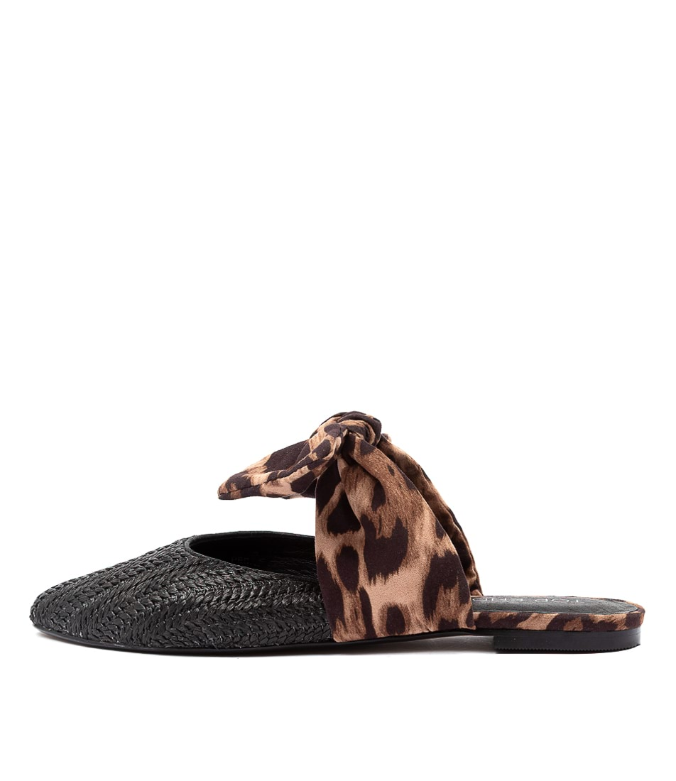 Buy Top End Pedro To Black Ocelot Flats online with free shipping
