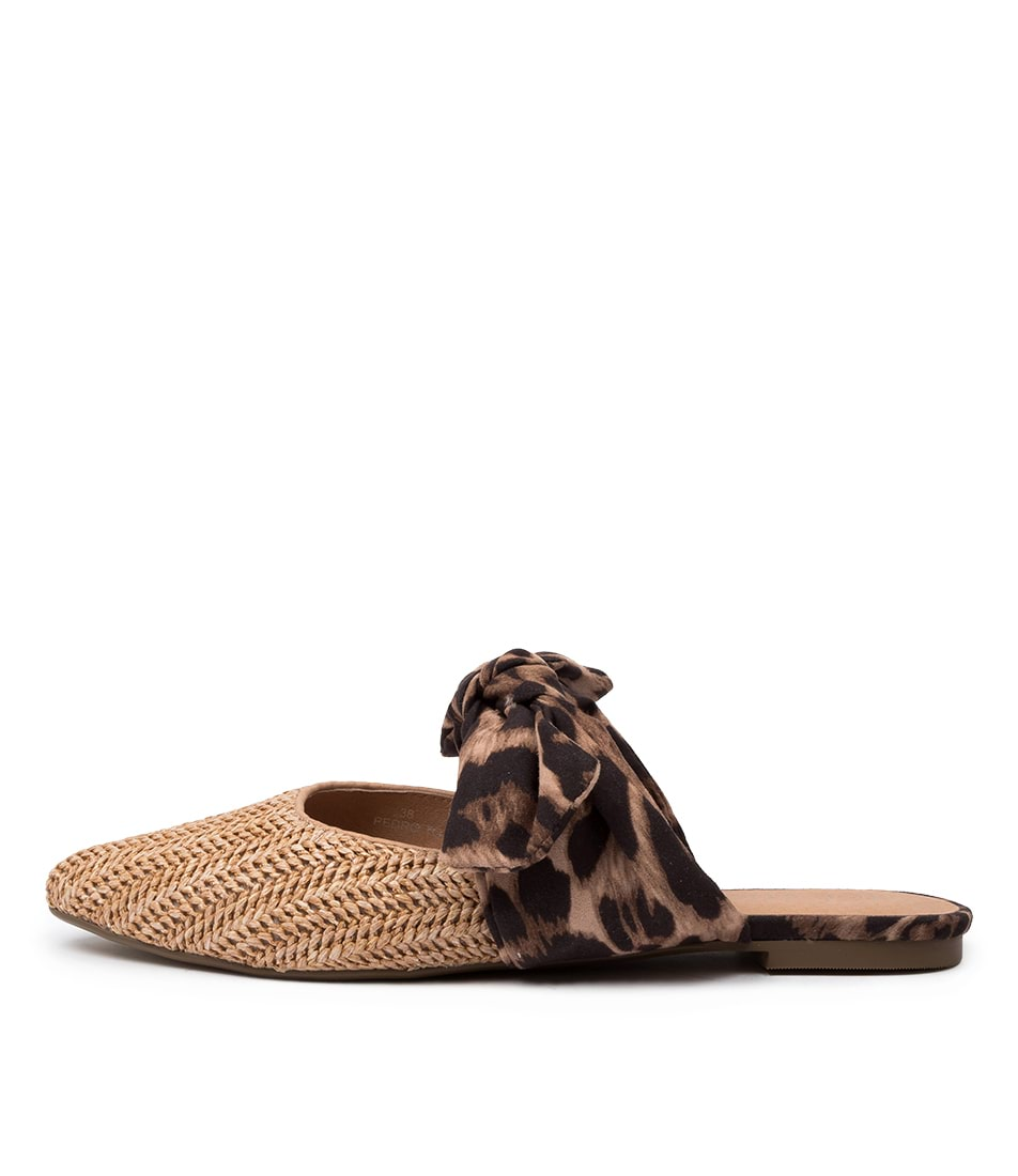 Buy Top End Pedro To Natural Ocelot Flats online with free shipping