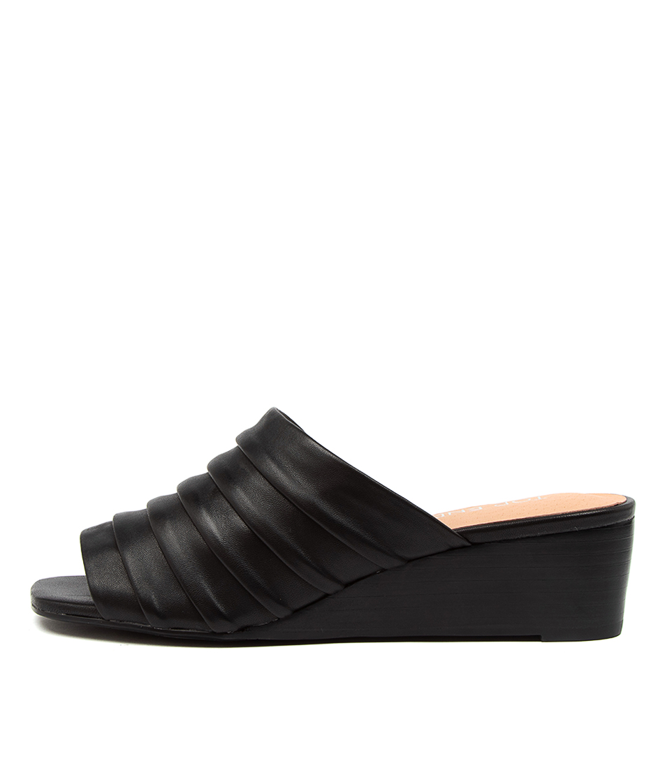Buy Top End Peyton To Black Heeled Sandals online with free shipping