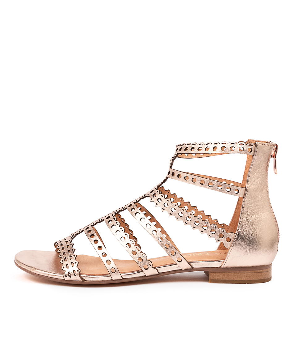 Buy Top End Prairie To Rose Gold Sandals Flat Sandals online with free shipping
