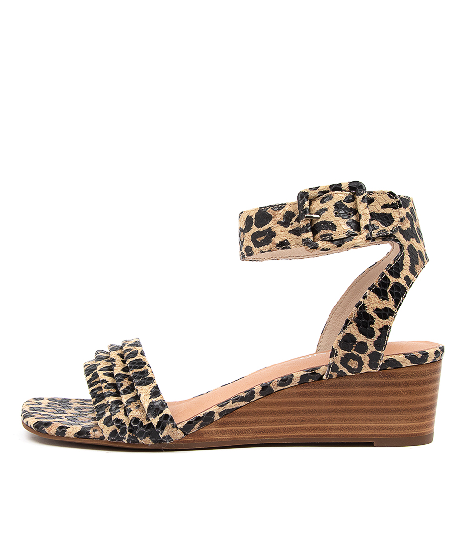 Buy Top End Prissy To Ocelot Heeled Sandals online with free shipping